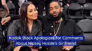 News video: Kodak Black Pulls Back From Hitting On Nipsey Hussle GF