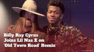 Billy Ray Cyrus and Lil Nas X Are Making Music [Video]