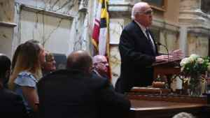 Senate President Miller pays tribute to late House Speaker Busch [Video]