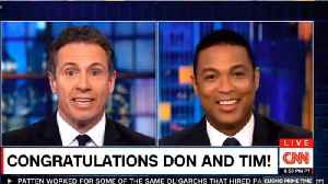 CNN's Cuomo Teases Don Lemon On Engagement Ring:  'Liberace Was Embarrassed' [Video]
