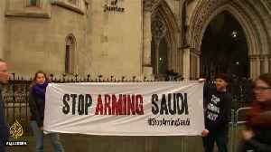 UK court to consider legality of arms sales to Saudi [Video]