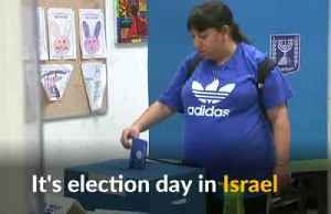 Israelis head to polls for parliamentary elections [Video]