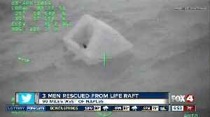 U.S. Coast Guard rescues 3 Tampa Bay area men after boat sinks near Naples [Video]