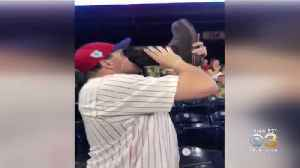 This Guy Is Drinking Beer From A Boot Every Time Rhys Hoskins Hits Home Run [Video]