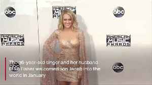 News video: Carrie Underwood 'figuring out' family life