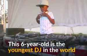 World's youngest DJ captivates crowds in South Africa [Video]