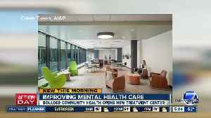 News video: Boulder Community Health opens new mental health treatment center