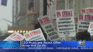 CSO Strike Continues After Musicians Reject Management's Final Contract Offer [Video]