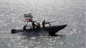 News video: Iranian Guards Commander Warns U.S. Navy Ships To Keep Their Distance