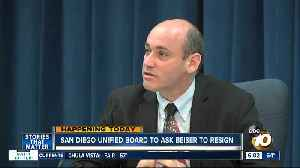 SD Unified Board to call on trustee's resignation [Video]