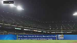 Chris Davis Sets Hitless Record In Front Of Record Low Attendance [Video]