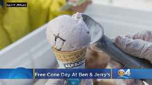 It's 'Free Cone Day' At Ben & Jerry's [Video]