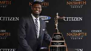 Zion wins Naismith Men's Player of the Year [Video]
