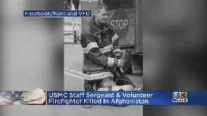 Maryland Firefighter Among 3 U.S. Service Members Killed In Afghanistan Bombing [Video]