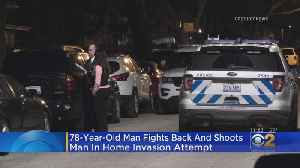 Homeowner Fights Back, Shoots Attempted Home Invader [Video]