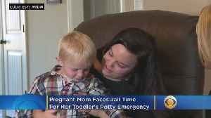 Pregnant Mom Faces Jail Time For Her Toddler's Potty Emergency [Video]