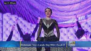 Delaware Teen Lands Gig With Cardi B [Video]