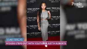 Jordyn Woods to Star in YouTuber Justin Roberts' New Music Video, Attends Listening Party in L.A. [Video]