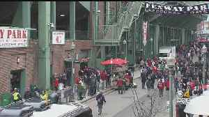 Red Sox Fans Excited For First Home Game Of 2019 [Video]