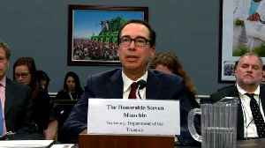 News video: Treasury Secretary Mnuchin: White House And Treasury Discussed Congressional Request For Trump's Tax Returns