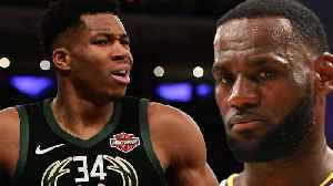 Giannis Antetokounmpo Turns Down 'Space Jam 2,' & Shades LeBron James 'I don't Like Being Hollywood' [Video]