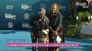 AJ McLean Reveals Daughter Ava, 6, Asked Him to 'Stop Being a Backstreet Boy and Just Be My Dad' [Video]