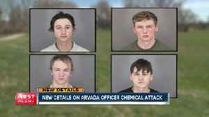 Affidavit released in chemical attack on Arvada officer [Video]