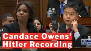 Watch: Rep. Ted Lieu Plays Recording Of Candace Owens On Adolf Hitler And Nationalism [Video]