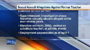 Elmbrook SD investigating sexual assault allegations [Video]