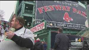 Despite Raw Day At Fenway, Red Sox Fans Excited For Opening Day [Video]