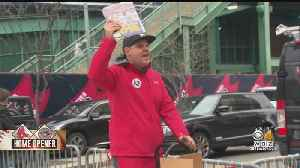 Red Sox Fans Flock To Fenway For 'A Championship Day' [Video]