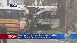Several Injuries In Special Needs Bus Accident [Video]
