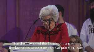 Baroness Boothroyd steals the show at People's Vote rally [Video]