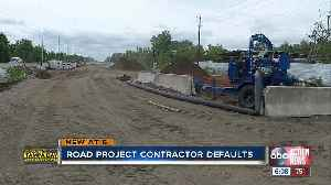 Road project contractor defaults [Video]