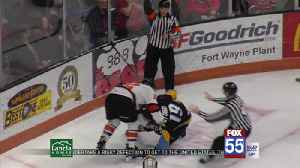 Komets, Walleye Ready for Playoff Matchup [Video]