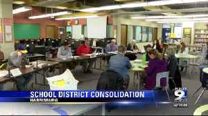 Harrisburg School Board votes to approve consolidation [Video]