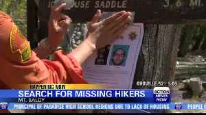 Authorities searching for missing hikers near Mount Badly [Video]