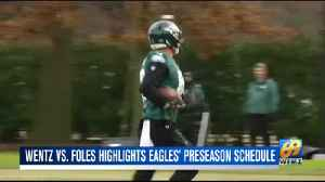 Eagles preseason schedule announced [Video]