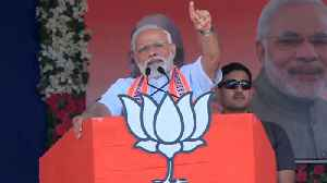 PM Modi attacks Congress over false promise during a rally in Junagarh | Oneindia News [Video]