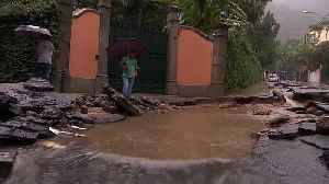 Heavy rains kill at least 10 people and leave a trail of destruction in Rio de Janeiro [Video]