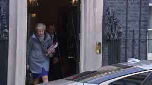Theresa May departs No. 10 ahead of PMQs and Brussels summit [Video]
