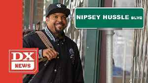 Ice Cube's Down With Renaming Crenshaw & Slauson After Nipsey Hussle [Video]
