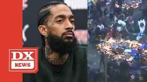 LAPD Reveals 2 People WERE Shot During Nipsey Hussle's Memorial [Video]