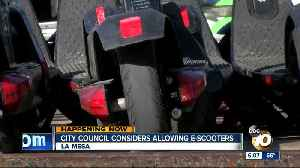 La Mesa to consider allowing dockless bikes, scooters [Video]
