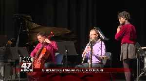 Grammy-winning contemporary classical music group performs at local school [Video]