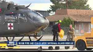 Boise Fire and Idaho Army National Guard rescue people from home [Video]