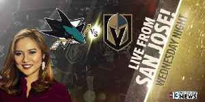 VGK headed to San Jose for first playoff game [Video]