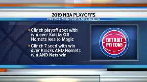Pistons can clinch playoff spot with win in season finale [Video]