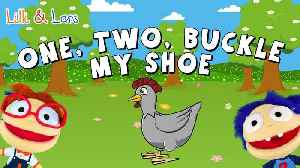 One, Two Buckle My Shoe with Lyrics | Nursery Rhymes for Kids | Popular Children's Songs [Video]