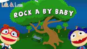 ROCK A BY BABY lullaby lyrics - famous nursery rhymes with lyrics in english [Video]